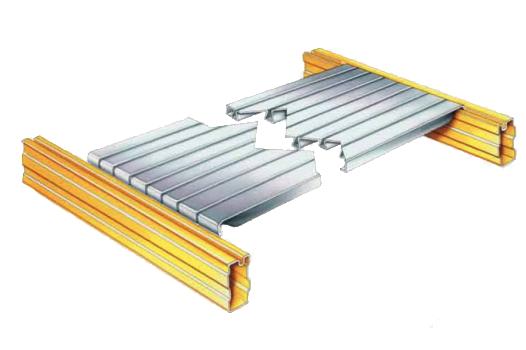 UGP raklapos állvány shelf-panel