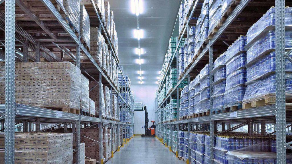 soros raklapállvány raklapos termékek tárolására